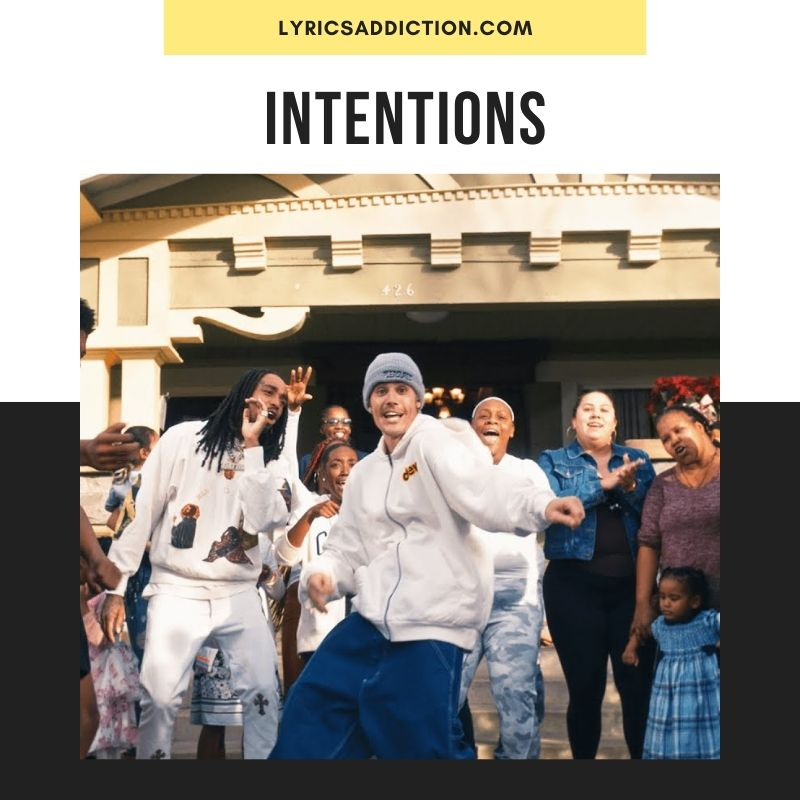 INTENTIONS - JUSTIN BIEBER FT. QUAVO
