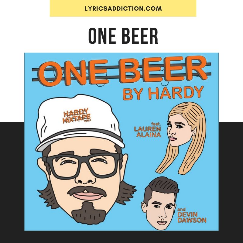 ONE BEER LYRICS