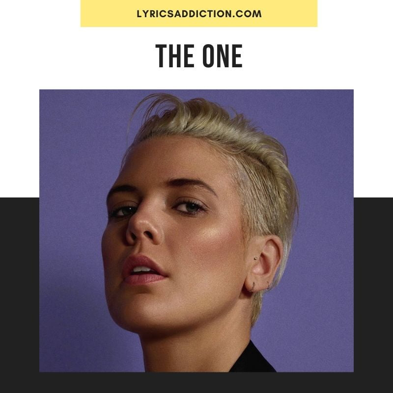 THE ONE LYRICS - BETTY WHO