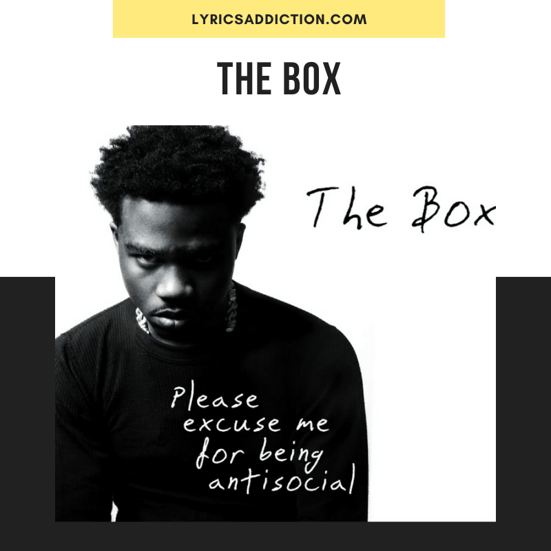 THE BOX LYRICS - RODDY RICCH