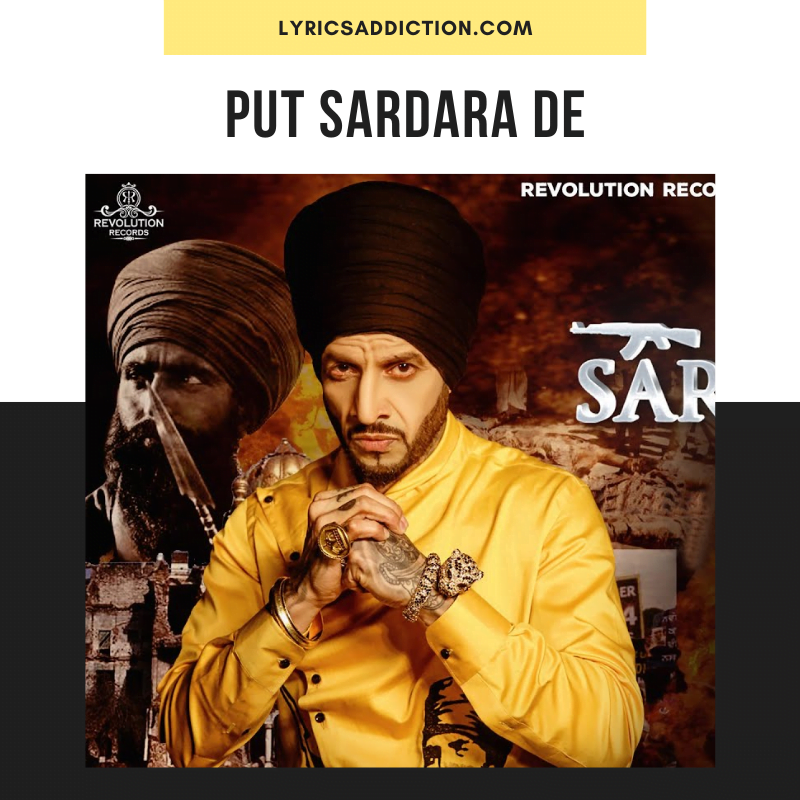 PUTT SARDARA DE SONG LYRICS - JAZZY B
