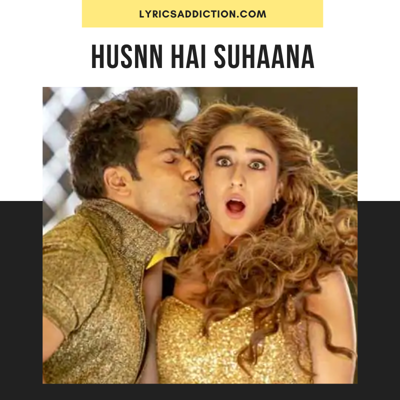 COOLIE NO.1 - HUSNN HAI SUHAANA LYRICS